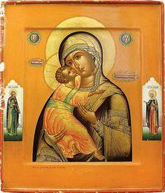 Russian Icons, Virgin Mary, Ikon, Mona Lisa, Princess Zelda, Artwork, Painting, Fictional Characters, Saints