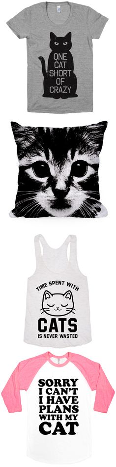 A collection for all the crazy cat ladies.