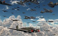 The Battle Of Britain,Part One by MasPix on DeviantArt