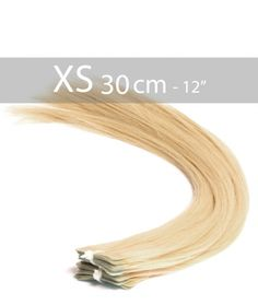 10 Extensions Adhésives 30cm - Blond Clair 22 - 25 gr
