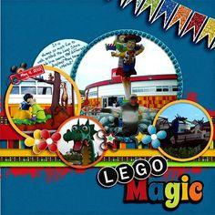 LEGO Scrapbook Ideas | MouseScrappers.com