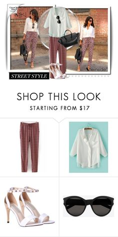 """""""Sheinside 1"""" by dinna-mehic ❤ liked on Polyvore featuring Yves Saint Laurent"""
