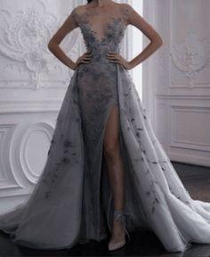 Cute Prom Dresses, Elegant Dresses, Pretty Dresses, Beautiful Dresses, Crazy Dresses, Green Wedding Dresses, Elegant Ball Gowns, Ball Gowns Evening, Tulle Prom Dress