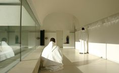 John Pawson; Abbey of Our Lady of Nový Dvůr (New Construction); Bohemia, Czech Republic, 2004.