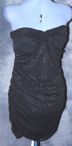 International,ladies,size 16,black,no pattern,bodycon,Party,Little Black Dress.