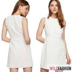 😍 Albul e soluția stylish salvatoare în această săptămână caniculară. Dresses For Work, Ootd, Stylish, Casual, Fashion, Moda, Fashion Styles, Fashion Illustrations