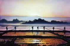 New day in vietnam