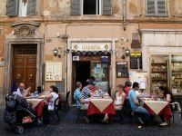 Proper etiquette for tipping at a restaurant in Rome. Good advice!