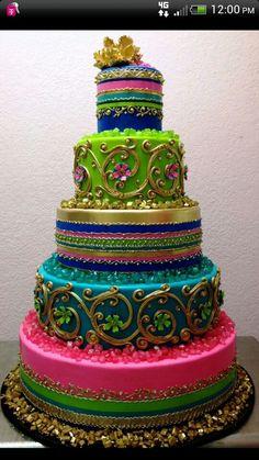 Beautiful indian cake