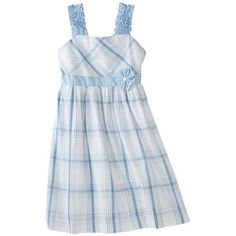 Hartstrings Girls 2-6X Plaid Dress