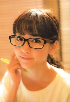 196 best chicas con lentes images  girls with glasses