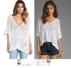 * This listing is for crochet pattern sent as a PDF file - not for an actual item. Materials for achieving best results: 100 % rayon. You will receive written tutorial in ENGLISH (for every row) plus all necessary graphical charts for crocheting this beautiful tunic. Written