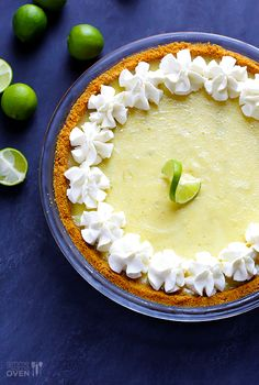 Best Key Lime Pie Recipe | gimmesomeoven.com