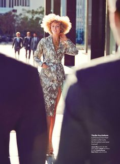 visual optimism; fashion editorials, shows, campaigns & more!: it's a jungle out there: frida gustavsson by will davidson for us glamour march 2015