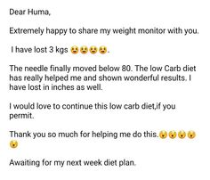 Low carb diets lose weight