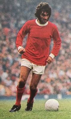 George Best of Man Utd in 1968.
