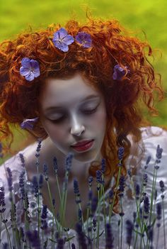 """Red Head - """" © A.M.Lorek Photography Photography: Agnieszka Lorek // A.M.Lorek Photography Model: Ophidia """""""