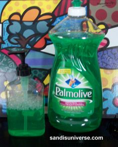 UP-CYCLED LIQUID SOAP PUMP It looks much neater by the sink and it takes less effort to pump. So easy to make!