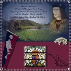 561 years ago today 2nd October marked the birthday of Richard Planatagenet, the future King Richard III of England. Loyaultie binds me.