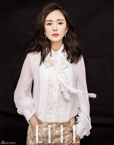 Dương Mịch yêu kiều trên tạp chí tháng 11