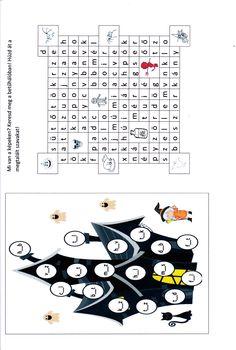 A bal oldalon az Okoskaland játékát írtam át, a jobb oldalin a képek szavait kell megkeresni. Playing Cards, Teacher, Halloween, Words, Pink, Professor, Playing Card Games, Teachers, Pink Hair