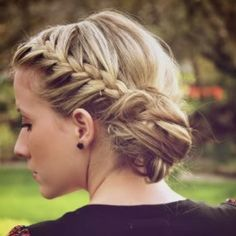 Beautiful ! Braided low side bun! <3 Visit www.makeupbymisscee.com for tips and how to's on hair, beauty and makeup