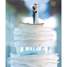 Floating Away in Love Wedding Cake Figurine...HOLY SHIT I AM GETTING THIS. IT IS PERFECT.