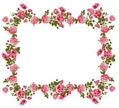 Red Rose Picture Frame flower border design framed with a pink border and three red roses wrapped like a vine around the frame. Description from pinterest.com. I searched for this on bing.com/images