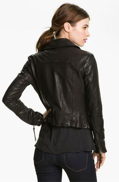 June Leather Biker Jacket | Nordstrom Biker, June, Nordstrom, Leather Jacket, Jackets, Vintage, Fashion, Studded Leather Jacket, Down Jackets