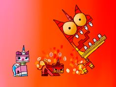 26 Unikitty (Lego Movie) HD Wallpapers | Backgrounds - Wallpaper Abyss