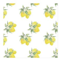'Lemon Fresh Wrapping Paper', on Minted.com
