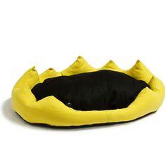 CORONA - Cuccia in tessuto. Indicata per cani di diverse taglie. #cushion #cane #dog #pet #design #Corona #LidyFactory