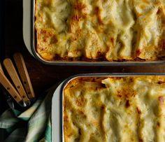 Chicken Cacciatore Lasagna