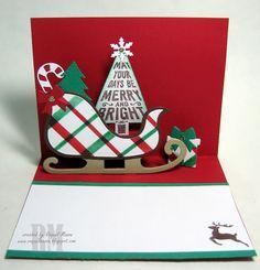 Sleigh Gift Card Holder