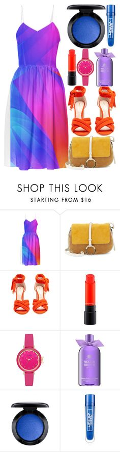 """""""Untitled #1914"""" by egordon2 on Polyvore featuring Halston Heritage, Nicholas Kirkwood, MAC Cosmetics, Molton Brown and Lipstick Queen"""