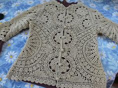"Ravelry: Saffran's ""Golden Lace"" BCBG Max Azria Crochet Coat, Form Crochet, Crochet Jacket, Crochet Cardigan, Crochet Granny, Crochet Clothes, Crochet Patterns, Crochet Fashion, Clothing Patterns"