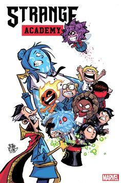 Acclaimed writer and artist Skottie Young takes us inside 'Strange Academy' #1!  Published February 7, 2020 Written by Blair Marnell