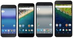 Google Pixel und Pixel XL im Größenvergleich