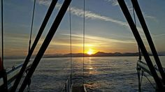 Sailing, Celestial, Sunset, Outdoor, Sunsets, Outdoors, Boating, Outdoor Games, Outdoor Living