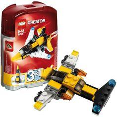 LEGO 31001 Creator: MINI Düsenjet  http://www.meinspielzeug24.de/lego-31001-creator-mini-duesenjet  #Junge, #LEGOCreator #Konstruktionspielzeug, #Spielwaren