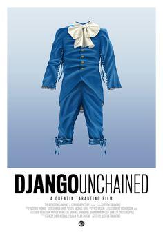 Django Unchained - movie poster - Tom Velez