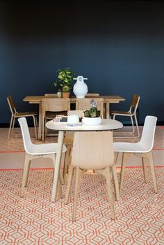 #Lottuswood chair & table in the KE-ZU Showroom Installation by Yellowtrace for Sydney Indesign 2013.