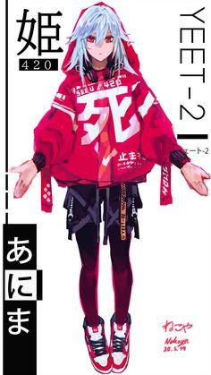 SKeTch 03 by on DeviantArt - Trend Charakter Design Cartoon 2019 Cyberpunk Mode, Cyberpunk Kunst, Cyberpunk Fashion, Cyberpunk Anime, Female Character Design, Character Design References, Character Design Inspiration, Character Art, Character Concept