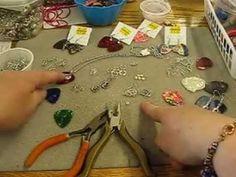 How to make guitar pick earrings compliments of Sandy Burnett & GlassMoose.com