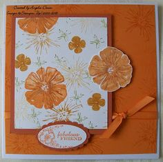 Sparkly Cards and Papercrafts: Two Step Stampin Promotion - Greenhouse Garden .......