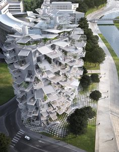 """Sou Fujimoto designs tree-inspired tower for Montpellier """"modern follies"""" project"""