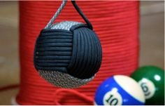 How to make a Giant Monkey Fist For Self Defense | #DIYReady Paracord Project www.diyready.com