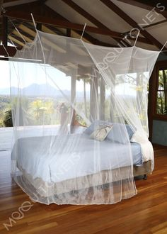Mosquito net for the budget conscious buyer. Our mosquito net is both functional and decorative. Diy Furniture Decor, Home Furniture, Net Box, Night Of The Iguana, Babysitting Activities, Tropical Bedrooms, Mosquito Net, Autumn Home, The Good Place