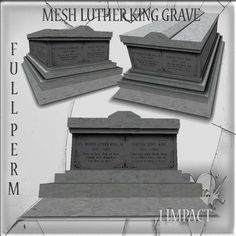 Mesh Cemetery Luther king grave Full perm 1 impact