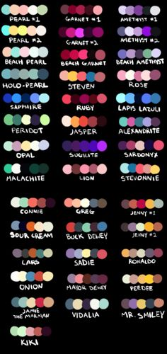 OK so I'm gonna do requests using this color palette so in the comments put down any character and any color scheme and I'll draw it